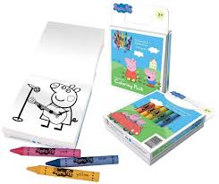 amazon com peppa pig coloring book set with peppa pig stickers