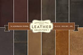 leather scrapbook 12 leather scrapbook papers 12x12 textures creative market
