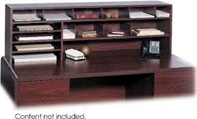 Safco Desk Organizers Safco 3651mh High Capacity Desk Top Organizer Three 11 X 16 Trays