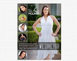 senior yearbook ad template ads high senior middle
