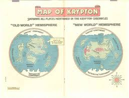 Dc Comics Map Image Map Of Krypton Earth One Jpg Dc Database Fandom