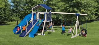 kids backyard playsets custom swing sets
