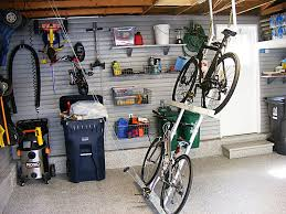 garage modern cast garage ceiling bike storage with saddle