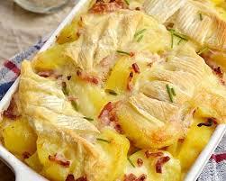 cuisine az tartiflette recette tartiflette au reblochon et aux lardons