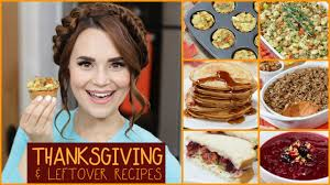 diy leftover recipes thanksgiving
