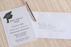graduate invites inspiring addressing graduation invitations