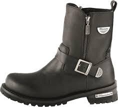 women s black motorcycle boots milwaukee afterburner womens motorcycle boots black leather u2013 the
