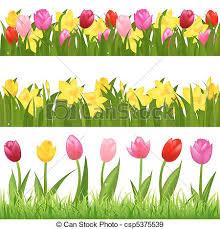 flower garden borders clipart clipartxtras
