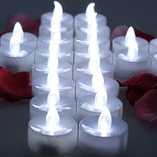 omgai 24 pcs led tea lights candle battery operated flameless