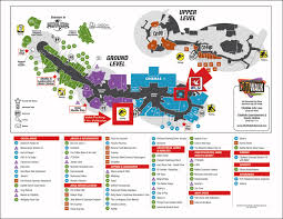 Universal Orlando Map 2015 by Parking Ifly Hollywood