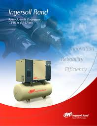 rotary air compressors ingersoll rand pdf catalogue