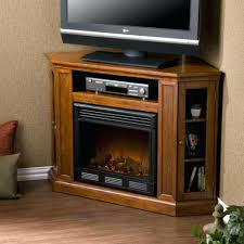 wall mounted electric fireplace heater mahogany with remote mount