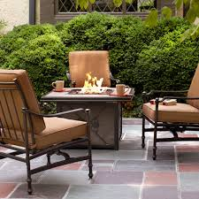 Fire Pit Outdoor Furniture by Create U0026 Customize Your Patio Furniture Niles Park Collection