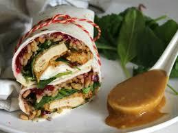 vegan thanksgiving leftover wraps this savory vegan