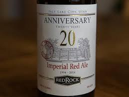 Utah travelers beer images Red rock brewing company salt lake city menu prices jpg