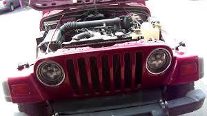 jeep angry headlights how to install headlights and halo u0027s on jeep wrangler tj youtube