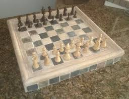 Outdoor Checker Table Made From How To Make A Easy Diy Ceramic Tile Chess Or Checkers Board Or Table