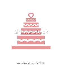 wedding cake websites stacked wedding cake dessert heart topper stock vector 565769929