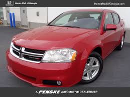 2013 used dodge avenger 4dr sedan sxt at honda mall of georgia