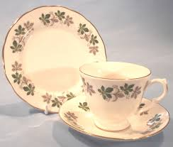 gainsborough vintage bone china bachelor tea dinner set