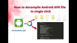 decompile apk et télécharger how to decompile android apk file in single click