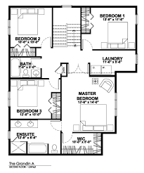 Master Bedroom Ensuite Floor Plans Grandin A Explorer Discovery Homes