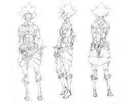 character design style 2 male 2 by wolfsmoke on deviantart