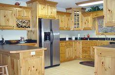knotty pine kitchen cabinets thinking about doing something like this in my kitchen