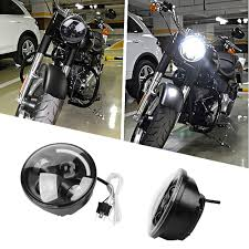 Led Light Bulbs For Headlights by 5 75 Inch Motorcycle Projector Daymaker Hid Led Light Bulb