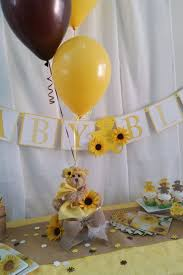 Sunflower Decorations Sunflower Decorations For Baby Shower Kobigal Com