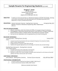 resume format for freshers mechanical engineers documentary evidence 34 resume format free word pdf documents download free
