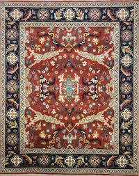 Wool Indian Rugs I 8259 Indian Jaipur Mahal Lashar Rugs U2013 Finest Tribal U0026 Kilim Rugs