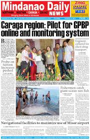 mindanao daily caraga october 16 2014 by dante sudaria issuu