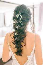 the 25 best babys breath hair ideas on pinterest casual wedding