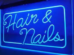 popular salon lights decoration buy cheap salon lights decoration lb322 open hair nails beauty salon led neon light sign home decor crafts