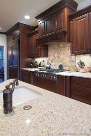 cherry wood kitchen ideas cherry cabinets ideas on foter