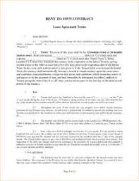 lease to buy agreement template 28 images purchase template