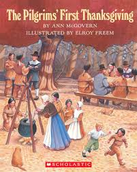 the pilgrims thanksgiving the blithering bookster