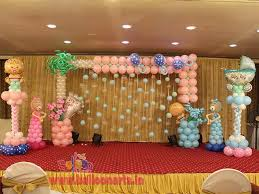 Balloon Decoration For Baby Shower Balloon Decorations Balloon Decorators In Mumbai Most Skilled