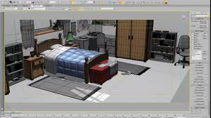 Bedroom Design 3ds Max 3ds Max Cartoon Bedroom Layout Youtube