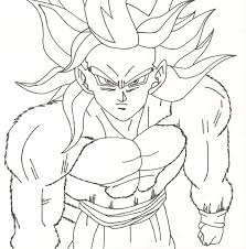dragon ball z printable coloring pages free coloring book 5428