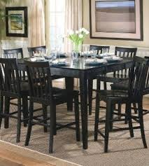 Black Dining Room Table With Leaf Foter - Black kitchen table