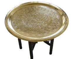 moroccan tea table stand moroccan brass tray table moroccan coffee tea table e kenoz