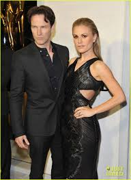 anna paquin u0026 stephen moyer tom ford cocktail party photo