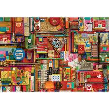 vintage art supplies 2 000 piece puzzle 625012507110