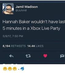 Xbox Live Meme - jamil madison hannah baker wouldn t have last 5 minutes in a xbox