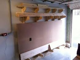 Wooden Storage Rack Plans by 145 Best Images About Workshop On Pinterest Lumber Storage Rack