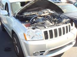silver jeep grand cherokee 2006 jeep salvage for sale cherokee srt8 forum