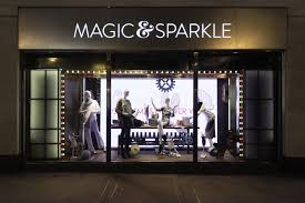 marks and spencer magic sparkle window displays