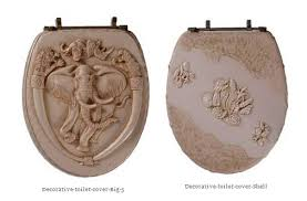 Decorative toilet Seat Covers Svardbrogard